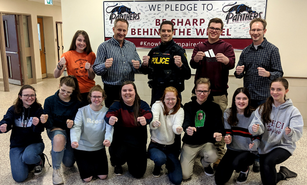 Prince Edward Collegiate Institute (PECI) students celebrate NTDSW
